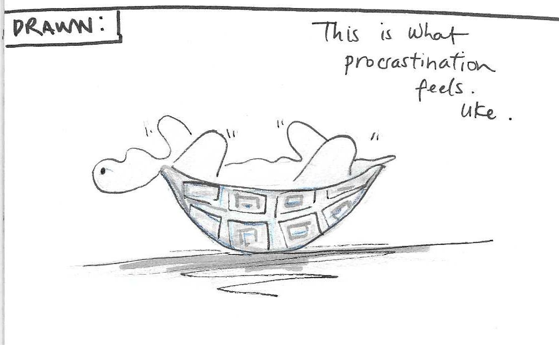 Procrastination hurts…