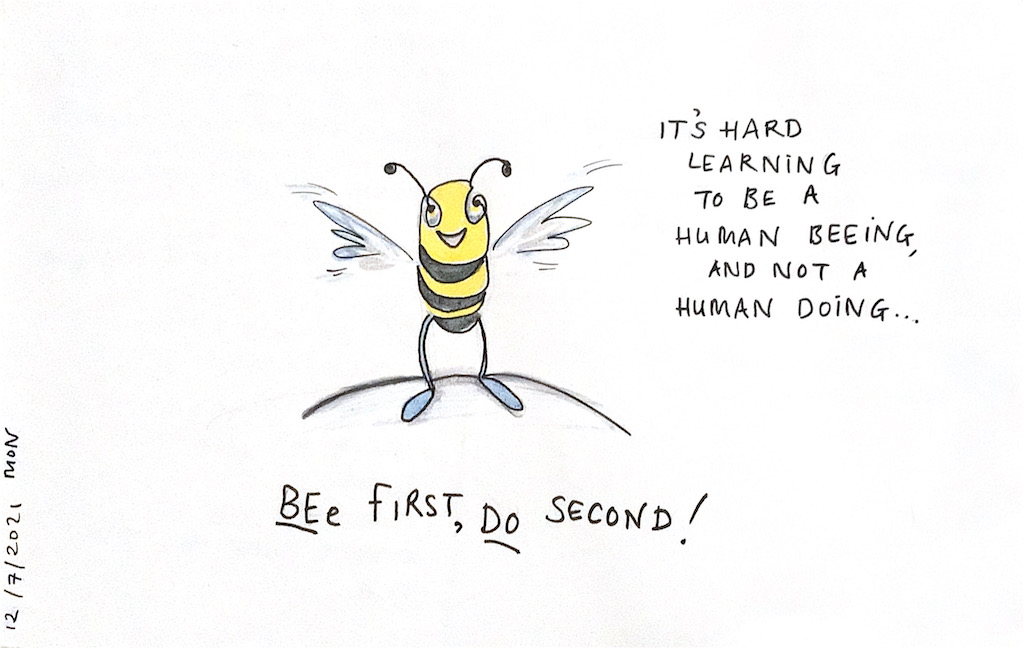 Bee first…