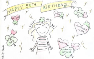 Read more about the article A very happy birthday to lucky old me!