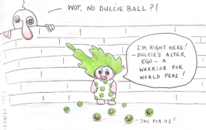 Read more about the article Wot, no Dulcie Ball?!