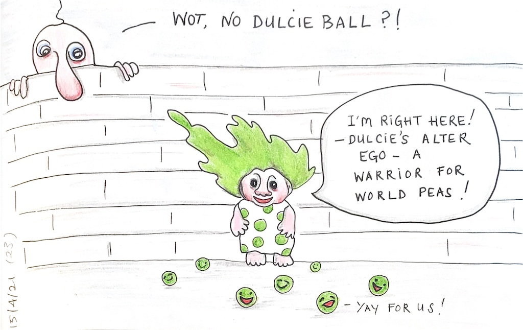 You are currently viewing Wot, no Dulcie Ball?!