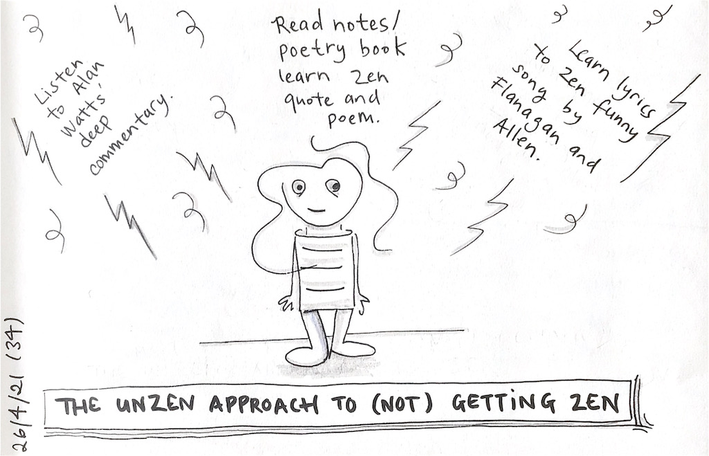 You are currently viewing Unzen zen!