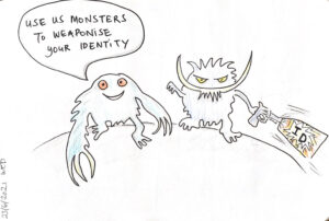 Read more about the article Use us monsters…