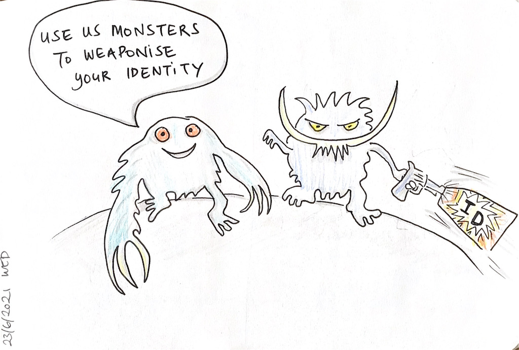 You are currently viewing Use us monsters…