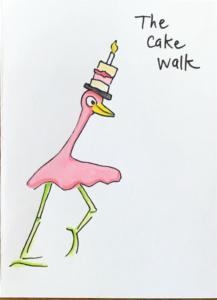 Birthday Flamingoes…