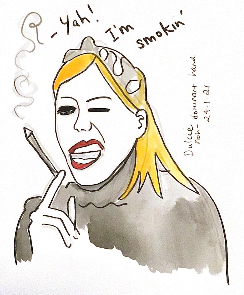 Yah! I'm smokin'