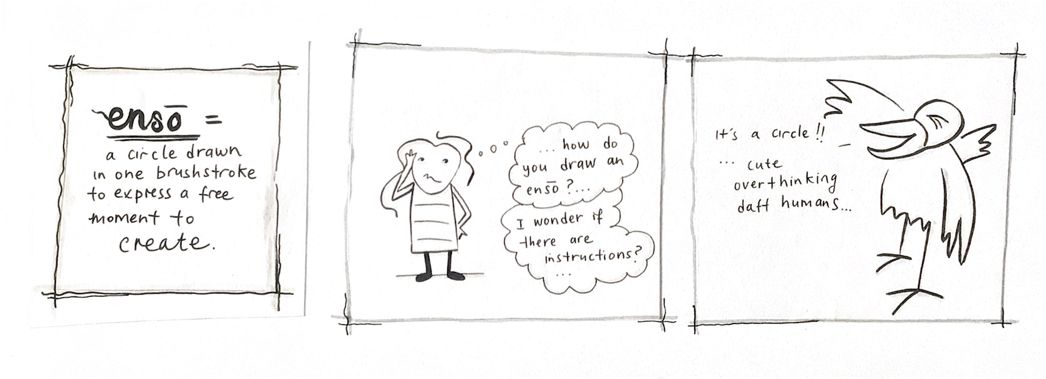 Overthinking…
