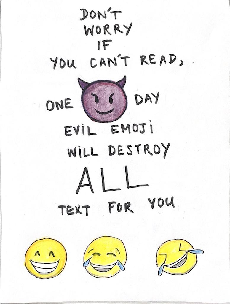 Evil Emoji…