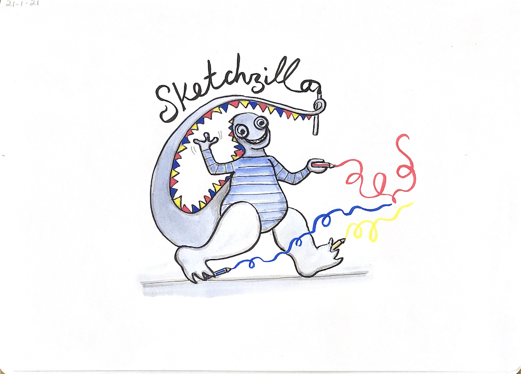 Me 'Sketchzilla'
